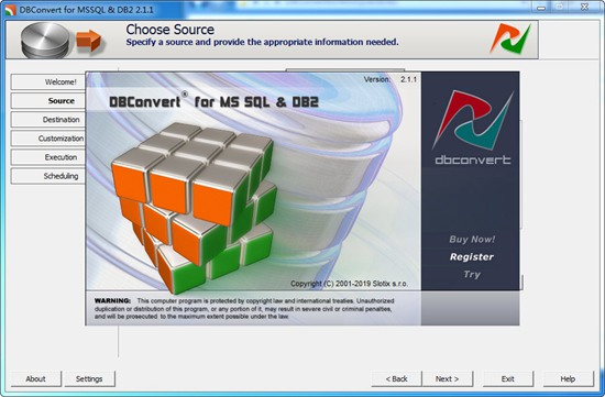 DBConvert for MSSQL and DB2图1