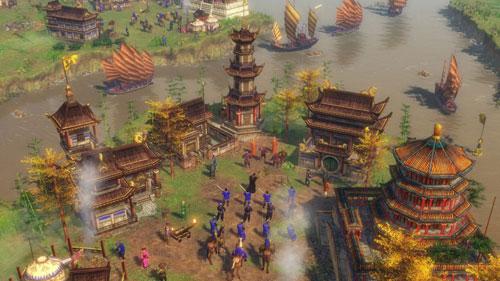 帝国时代3亚洲王朝游戏截图
