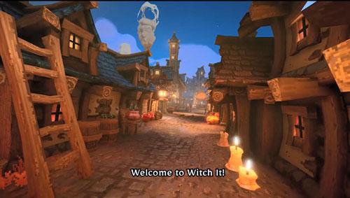 《女巫来了》游戏截图4