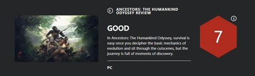 《先祖:人类奥德赛》IGN评分