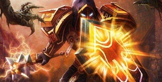 魔兽世界怀旧服骑士图片