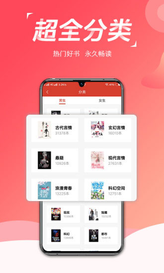 热搜小说app截图2