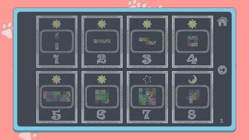 咪哒猫的数字迷宫截图0