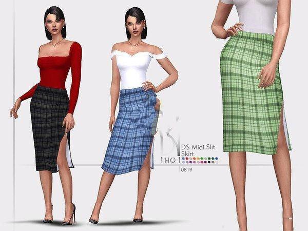 模�M人生4女性格子小短裙MOD截�D1