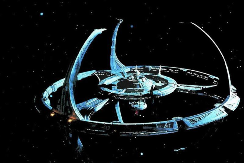 无人深空空间站和信号光束颜色包MOD截图0