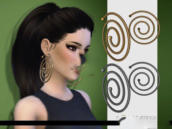 模拟人生4蚊香型耳环MOD截图0