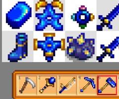 星露谷物语蓝铱工具MOD截图0