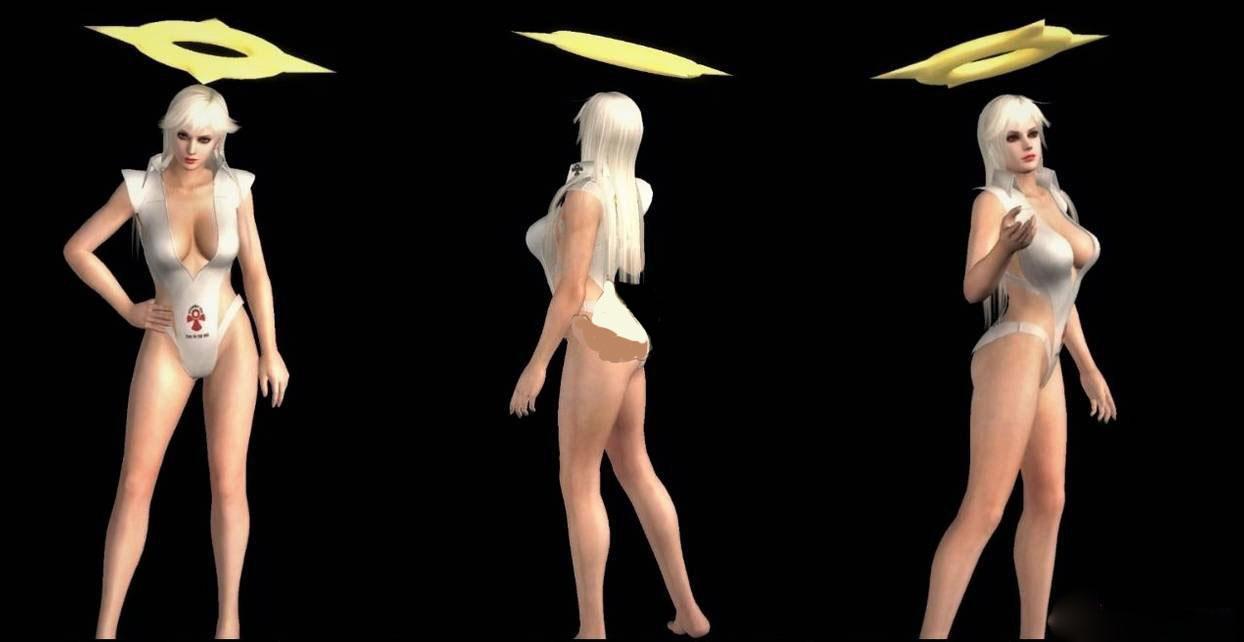 死或生5Christie白色天使泳装MOD截图0