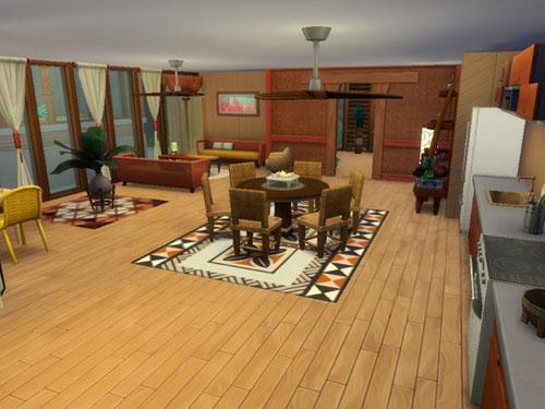 模拟人生4海边的木质简洁住宅MOD截图2