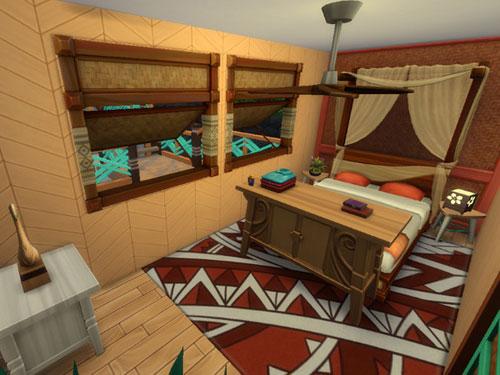模拟人生4海边的木质简洁住宅MOD截图3