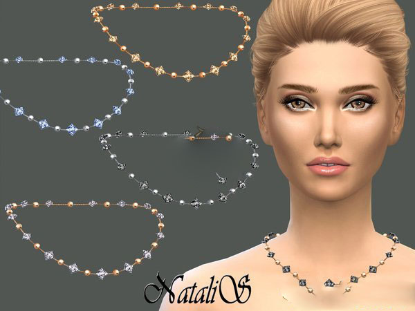 模拟人生4精致钻石珍珠项链MOD截图0