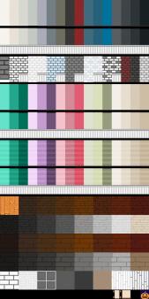 星露谷物语现代风壁纸和硬木地板外观MOD截图0