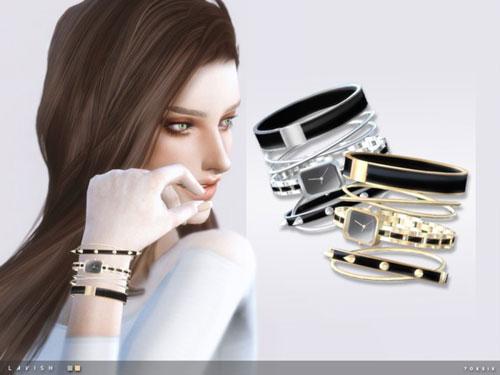 模拟人生4时尚的手表手链MOD截图0