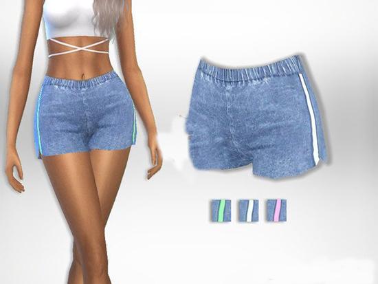 模拟人生4女性舒适短裤MOD截图0