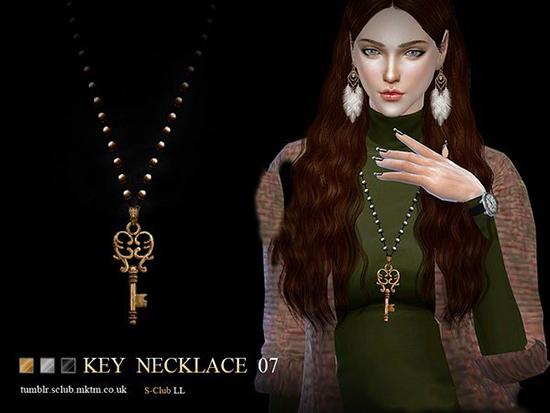 模拟人生4爱心心形钥匙项链MOD截图0