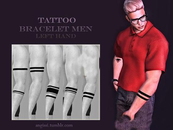 模拟人生4男性手臂纹身MOD截图0