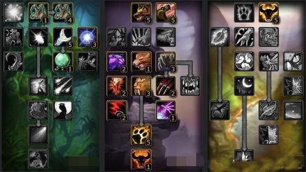 魔兽世界怀旧服天赋图片2