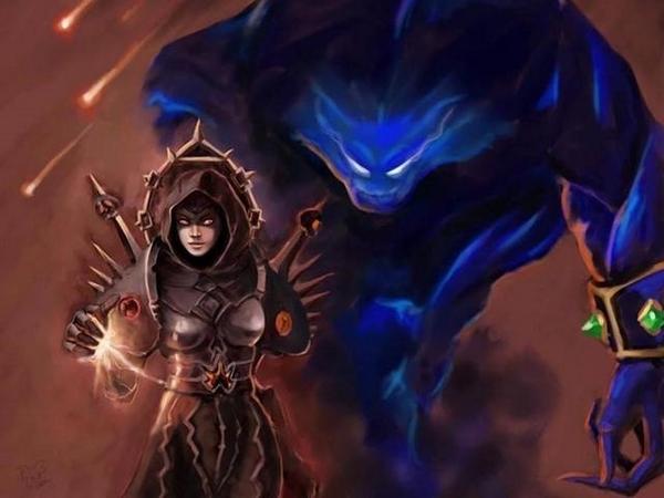 魔兽世界怀旧服术士图片