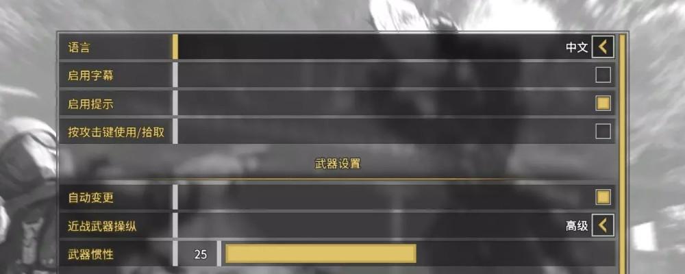 影子武士2中文设置界面图片