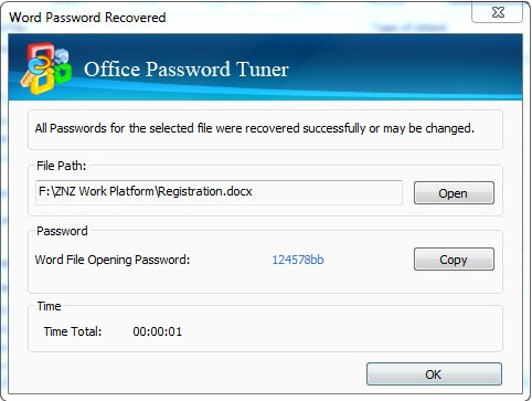 Cocosenor Office Password Tuner图