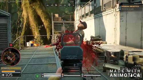 《铁血战士:猎场》游戏截图3