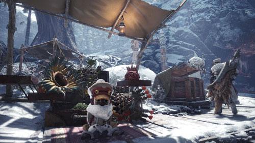 《怪物猎人世界冰原》游戏截图1