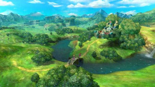 《二之国:白色圣灰的女王》游戏截图