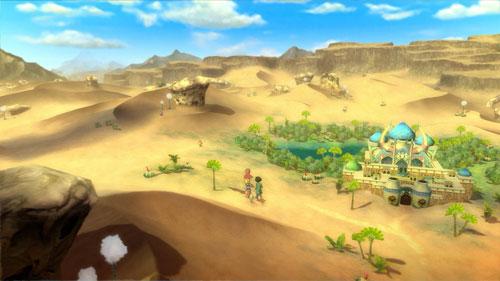 《二之国:白色圣灰的女王》游戏截图2