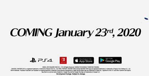 《最终幻想水晶编年史》20年初发售