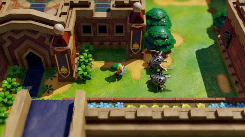 《塞尔达传说:织梦岛》游戏截图2