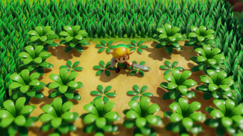 《塞尔达传说:织梦岛》游戏截图1