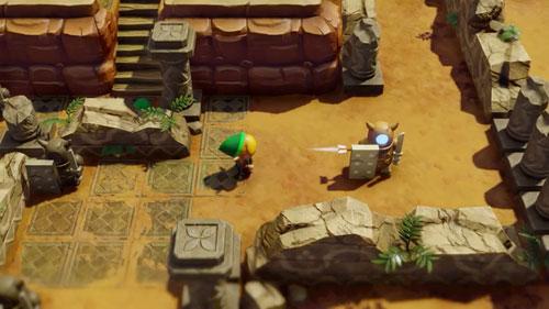 《塞尔达传说:织梦岛》游戏截图3