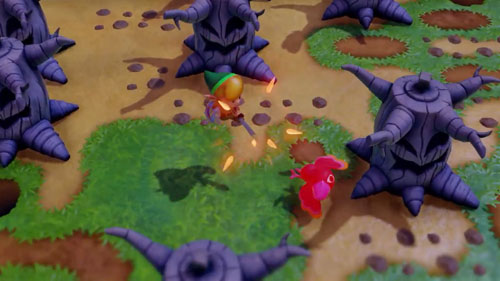 《塞尔达传说:织梦岛》游戏截图4