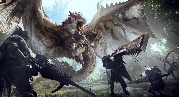 怪物猎人世界游戏截图