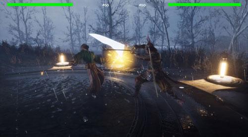 《刀下死》游戏截图