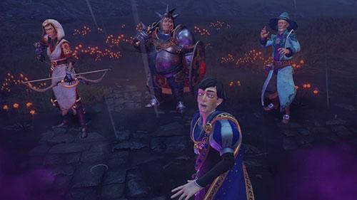 《三位一体4:梦魇王子》游戏截图1