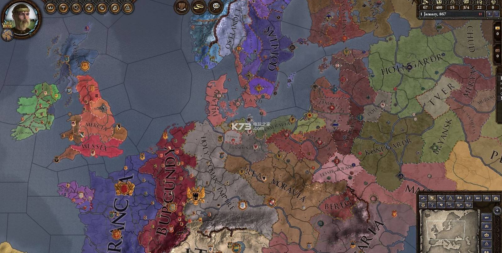 十字军之王2游戏画面5