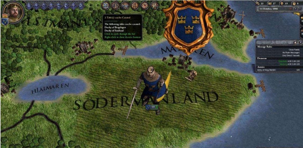 十字军之王2游戏画面7