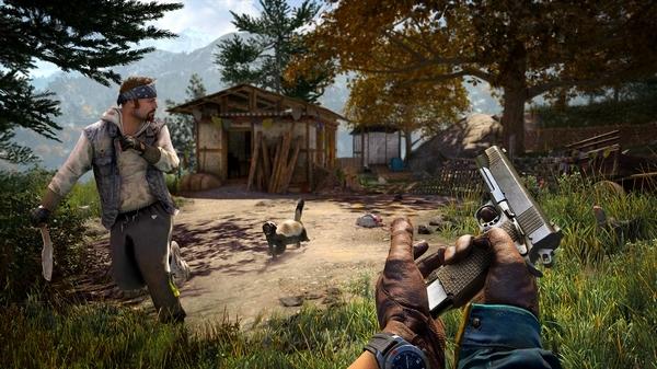 孤岛惊魂4游戏截图