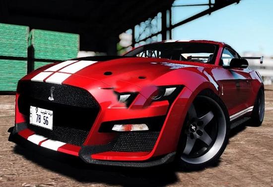 侠盗猎车5 2020款福特Mustang Shelby GT500超跑MOD截图0