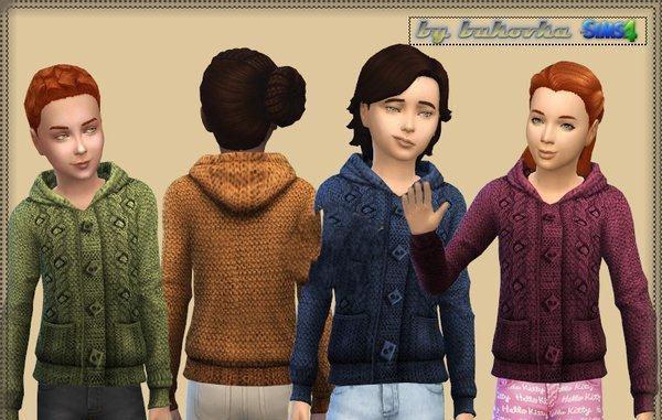 模拟人生4男孩女孩简洁毛衣MOD截图0
