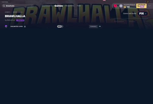 格斗挑战无限条命修改器截图0