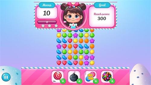 糖果传奇世界HD截图0