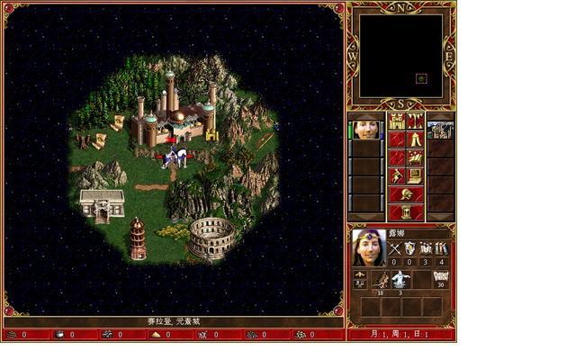 英雄无敌3死亡阴影图片元素城攻略3
