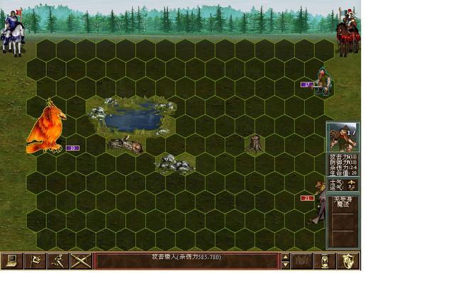 英雄无敌3死亡阴影图片元素城攻略9