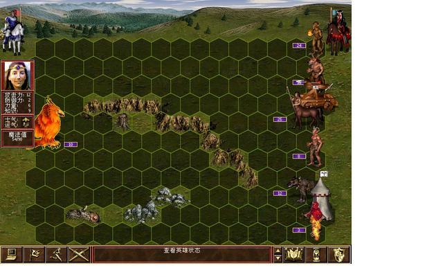 英雄无敌3死亡阴影图片元素城攻略12
