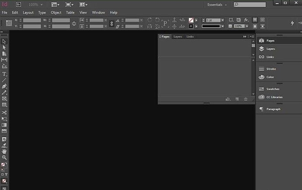 InDesign cc 2019透明度调整界面1