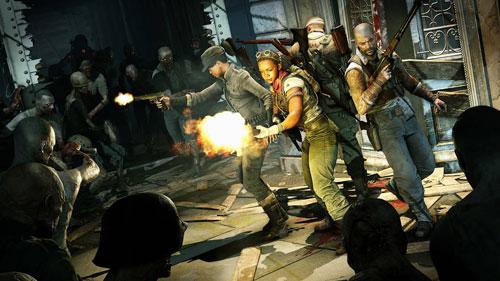 《僵尸部队4:亡灵大战》游戏截图1