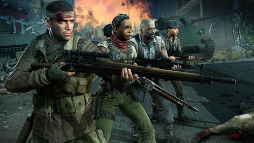 《僵尸部队4:亡灵大战》游戏截图5