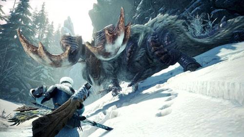 怪物猎人世界冰原游戏截图